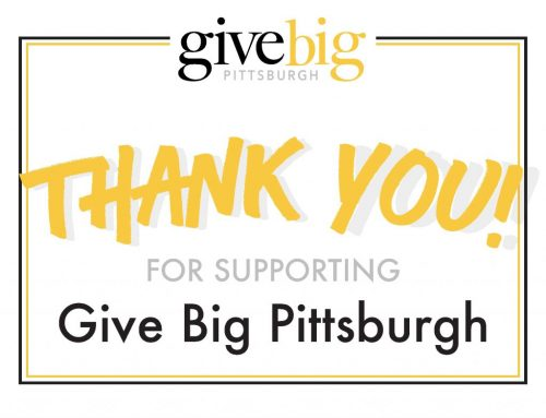 Give Big Pittsburgh Donations Top $2000 and Rising!